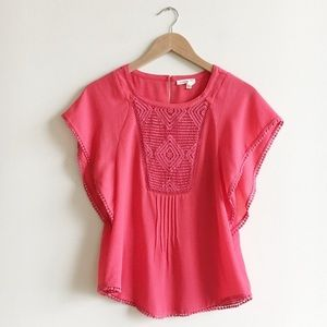 Like new🌟Anthropologie Meadow Rue blouse small